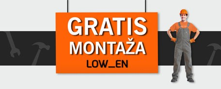 Gratis montaža samo do 16.1.